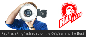 RayFlash Ringflash adaptor, the Original and the Best!