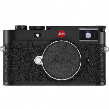 Leica M10-R Rangefinder Digital Rangefinder Camera Body (Black Chrome)