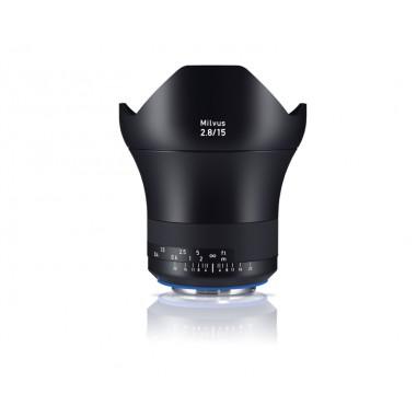 Zeiss 15mm f2.8 Milvus SLR Lens Nikon ZE Fit