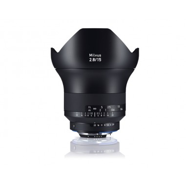 Zeiss 15mm f2.8 Milvus SLR Lens Nikon ZF.2 Fit Side