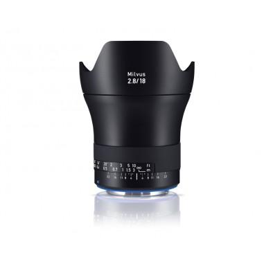 Zeiss 18mm f2.8 Milvus SLR Lens Canon ZE Fit