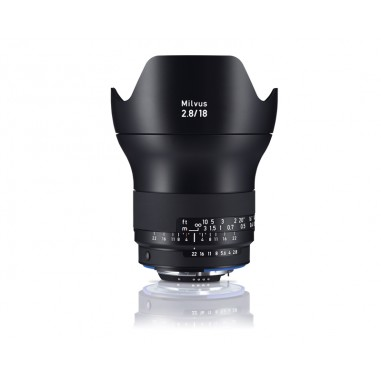 Zeiss 18mm f2.8 Milvus SLR Lens Nikon ZF.2 Fit