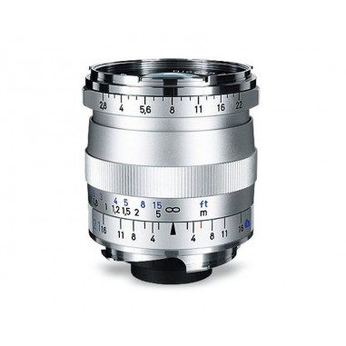 Zeiss 21mm f2.8 Biogon T* Wide Angle Lens ZM Bayonet Silver