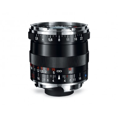 Zeiss 25mm f2.8 Biogon T* Wide Angle Lens ZM Bayonet Black