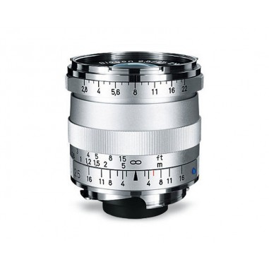 Zeiss 25mm f2.8 Biogon T* Wide Angle Lens ZM Bayonet Silver