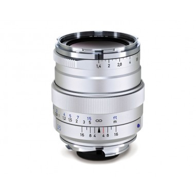 Zeiss 35mm f1.4 Distagon T* Wide Angle Lens ZM Bayonet Silver