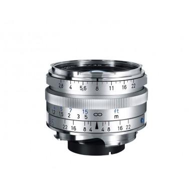 Zeiss 35mm f2.8 C-Biogon T* Wide Angle Lens ZM Bayonet Silver