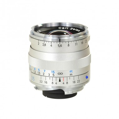 Zeiss 35mm f2 Biogon T* Wide Angle Lens ZM Bayonet Silver