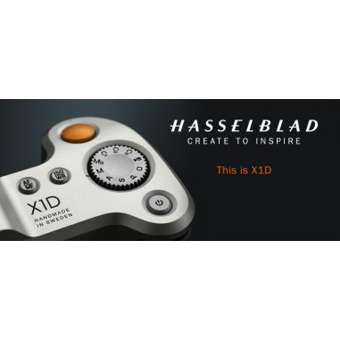 Hasselblad X1D Hand On Workshop with John Clements