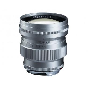 Ex-Demo Voigtlander 75mm f1.5 VM ASPH Vintage Line Nokton Silver Lens