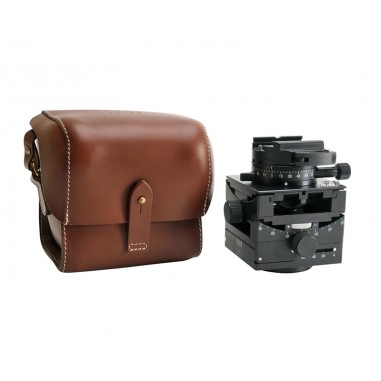 Arca Swiss C1 Cube GP Tripod Head Geared Panning with Quickset FlipLock Device and Leather Case