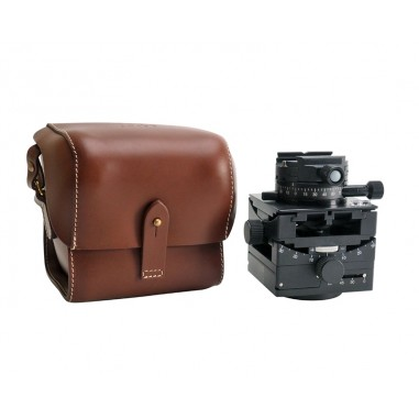 Arca Swiss C1 Cube Head with Geared Panning and Quickset Classic Device and Leather Case