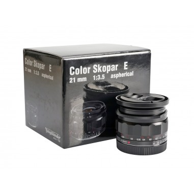 Ex-Demo Voigtlander 21mm f3.5 E-Mount Color-Skopar Aspherical Lens