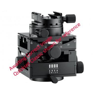 Arca Swiss C1 Cube Tripod Head with Geared Panning and MonoballFix Device