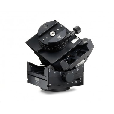 Arca Swiss C1 Cube Tripod Head with Geared Panning and MonoballFix Device and Leather Case