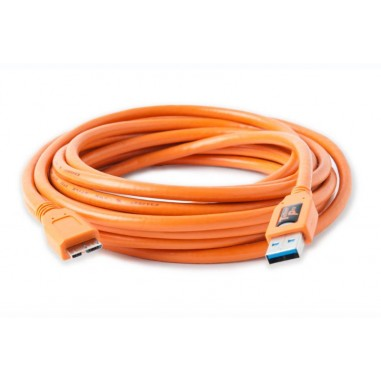 Tether Tools TetherPro USB 3.0 SuperSpeed Male A to Micro B 4.6m Cable