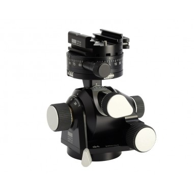 Arca Swiss D4 GP Geared Panning Tripod Head with Quickset FlipLock Device