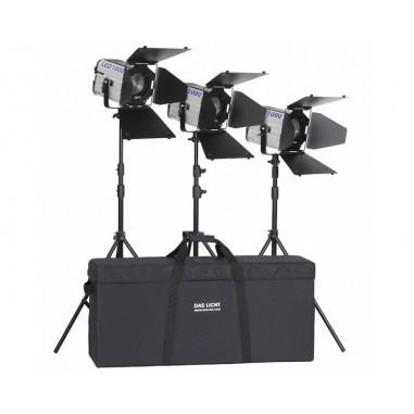 Hedler Profilux LED 1000 3 Head Lighting Kit