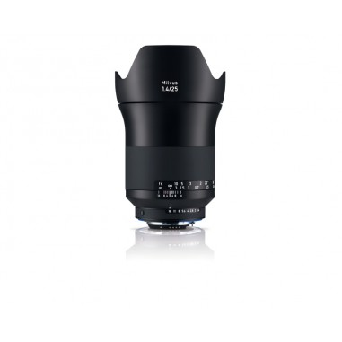 Zeiss 25mm f1.4 Milvus Wide Angle SLR Lens Nikon ZF.2 Fit