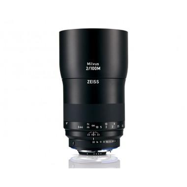 Zeiss 100mm f2M Milvus SLR Macro Lens Nikon ZF.2 Fit