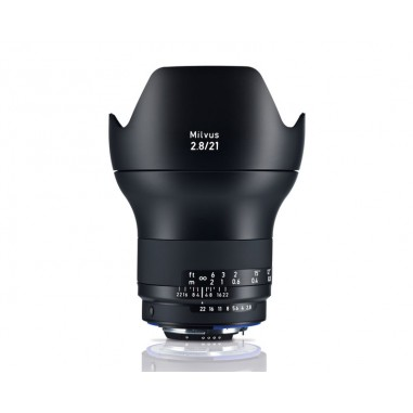 Zeiss 21mm f2.8 Milvus Wide Angle SLR Lens Nikon ZF.2 Fit