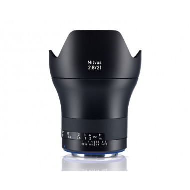 Zeiss 21mm f2.8 Milvus Wide Angle SLR Lens Canon ZE Fit
