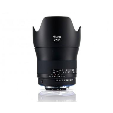 Zeiss 35mm f2 Milvus Wide Angle SLR Lens Nikon ZF.2 Fit