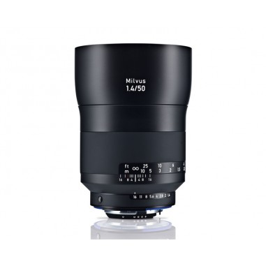 Zeiss 50mm f1.4 Milvus Standard SLR Lens Nikon ZF.2 Fit