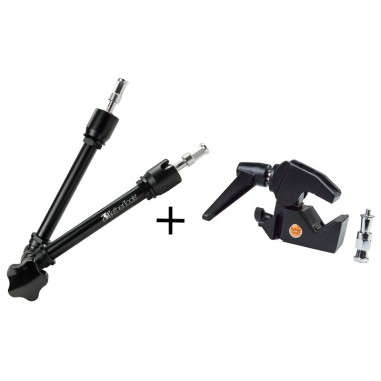 TetherTools RS290KT Rock Solid Master Articulating Arm + Clamp Kit