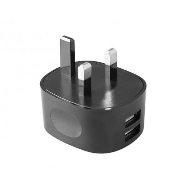 TetherTools RSUWA-UK Rock Solid Dual USB to AC Wall Adapter (UK Standard)