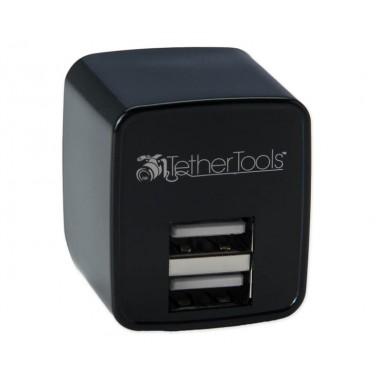 TetherTools RSUWA Rock Solid Dual USB to AC Wall Adapter (U.S. Standard)