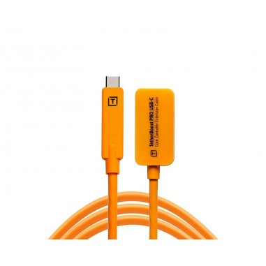 TetherBoost Pro USB-C Core Controller Extension Cable Orange