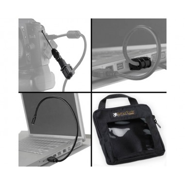 TetherToolsTTVPK-CLIP Tethering Essentials Pack w/ Clip-On Cable Support