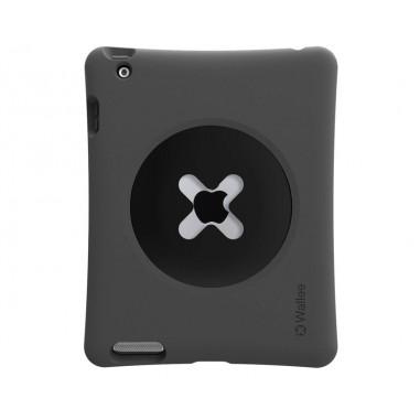 TetherTools WPR1BLK Wallee Pro Bumper for iPad 2, 3 & 4 Black