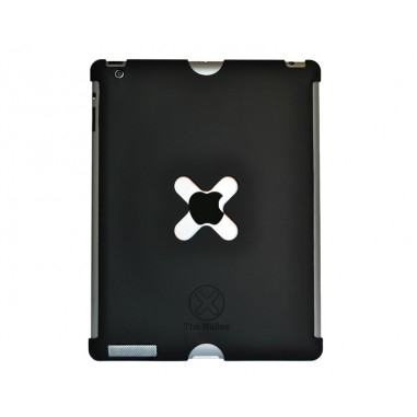 TetherTools WSC3BLK Wallee X-Lock Case for iPad 3 or 4 Black