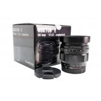 Ex-Demo Voigtlander 50mm f1.2 Nokton Aspherical E-Mount Lens
