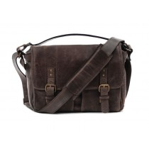 Ona Prince Street Messenger Bag - Dark Truffle Leather