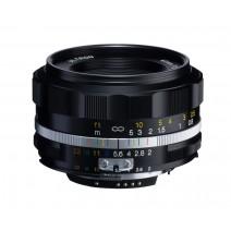 Voigtländer-Voigtlander 40mm f2 SL II-S Nokton Nikon Fit Black Lens