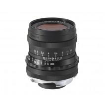 Voigtländer-Voigtlander 35mm f1.7 VM ASPH Vintage Line Ultron Black Lens