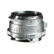 Voigtländer-Voigtlander 35mm f2 VM ASPH ULTRON Vintage Line Type II Silver Lens