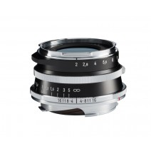 Voigtländer-Voigtlander 35mm f2 VM ASPH ULTRON Vintage Line Silver Lens