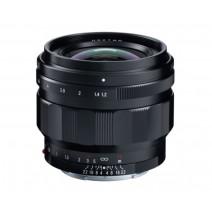Voigtländer-Voigtlander 50mm f1.2 Nokton Aspherical E-Mount Lens
