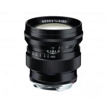 Voigtländer-Voigtlander 75mm f1.5 VM ASPH Vintage Line Nokton Black Lens