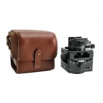 Arca Swiss Tripod Heads-Arca Swiss C1 Cube GP Tripod Head Geared Panning with Quickset FlipLock Device and Leather Case