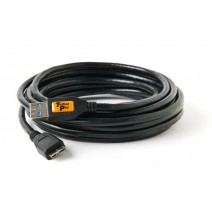 Tether Tools-TetherTools CU5453 TetherPro USB 3.0 SuperSpeed Male A to Micro B 15' (4.6m) Cable