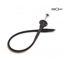 Ebony-Ebony 25cm Cable Release