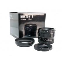 Voigtländer-Ex-Demo Voigtlander 35mm f1.4 Nokton E-Mount Lens