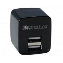 Tether Tools-TetherTools RSUWA Rock Solid Dual USB to AC Wall Adapter (U.S. Standard)