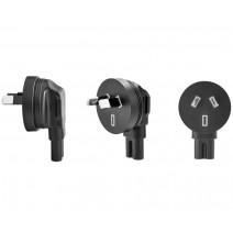 Tether Tools-TetherTools ONsite Power Plug Angle Adapter (AU Plug)