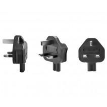 Tether Tools-TetherTools ONsite Power Plug Angle Adapter (UK Plug)